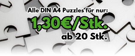 Angebot A4 Puzzle 2,20 ab 20 Stk.
